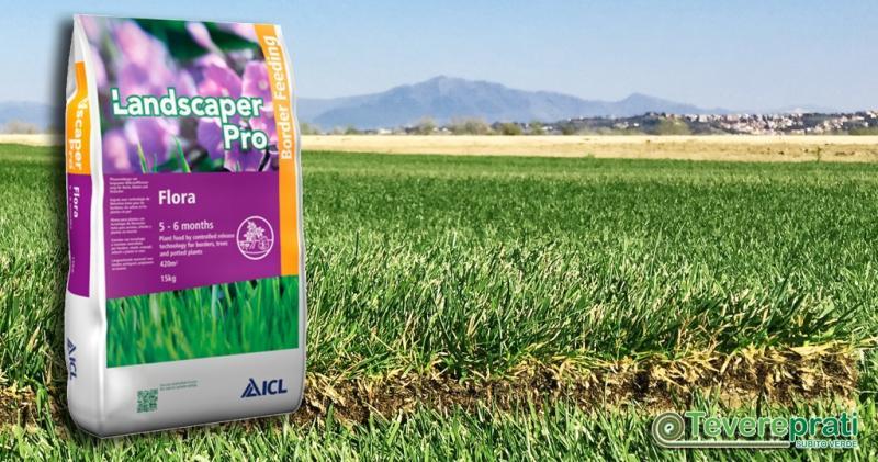 Landscaper Pro Flora - Fertilizzante per rinvigorire la clorazione di bordure, cespugli e piante ornamentali.