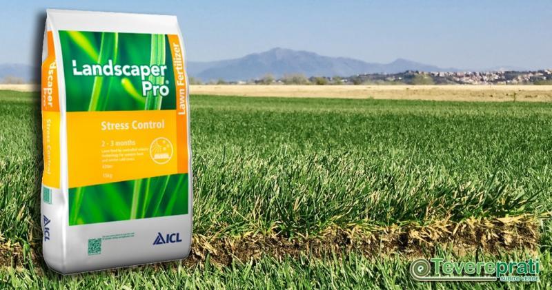 Landscaper Pro Stress Control - Fertilizzante per prato ad effetto antistress.