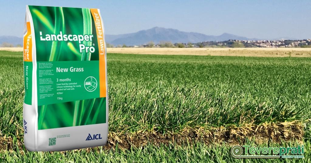Landscaper New Grass - Fertilizzante per la semina e l'impianto del prato